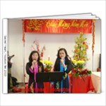 Sacred Heart Tet 2010 Van Album - 9x7 Photo Book (20 pages)