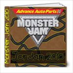 Monster Jam 2010 - 8x8 Photo Book (20 pages)