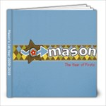 Mason s 1st year - 8x8 Photo Book (20 pages)