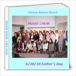 Praise choir 2 - 8x8 Photo Book (20 pages)