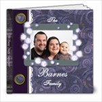 The Barnes Family album - 8x8 Photo Book (39 pages)