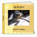 Quilts I - 8x8 Photo Book (20 pages)