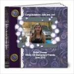 JULIE SHOWER - 8x8 Photo Book (20 pages)