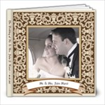 Antonietta & John Wedding Album 1 of 2 - 8x8 Photo Book (20 pages)