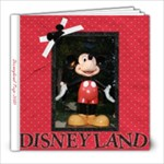 Disneyland-2010 - 8x8 Photo Book (20 pages)