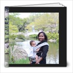 Ethan 12 months at botanical gardens - 8x8 Photo Book (30 pages)
