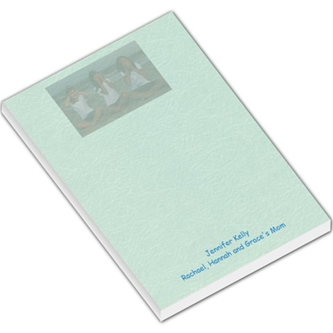 Hear No Evil By Jennifer Kelly   Large Memo Pads   R7g3kpxfx10s   Www Artscow Com