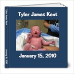 Tyler Birth Book - 8x8 Photo Book (20 pages)