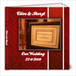 our wedding - 8x8 Photo Book (39 pages)