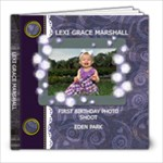 LEXI ONE YEAR PHOTO SHOOT - 8x8 Photo Book (20 pages)