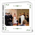 ANDREWS WEDDING - 8x8 Photo Book (20 pages)