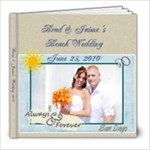 Brad & Jaime - 8x8 Photo Book (39 pages)