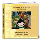 HANNAH S WINTER OLYMPICS 2010 final - 8x8 Photo Book (39 pages)
