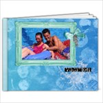 Vacation-Summer-Pool-Ocean-Cruise Family 9x7 photo book   - 9x7 Photo Book (20 pages)