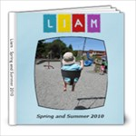 Liam summer 2010 - 8x8 Photo Book (20 pages)