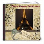 France - 8x8 Photo Book (39 pages)