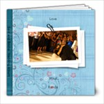 Mina Randa Wedding Album TWO - 8x8 Photo Book (20 pages)