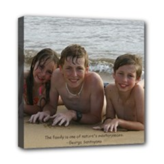 kids 8x8 canvas - Mini Canvas 8  x 8  (Stretched)