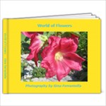 Flowers 9X7 - 9x7 Photo Book (20 pages)