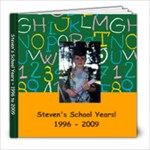 Steven s school years - 8x8 Photo Book (39 pages)