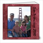 2010 San Francisco Trip - 8x8 Photo Book (39 pages)