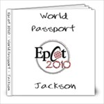 Jackson Passport - 8x8 Photo Book (20 pages)