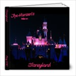 Disneyland - 8x8 Photo Book (60 pages)