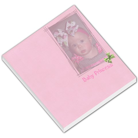 Baby Princess Memo By Brooke Burnie   Small Memo Pads   Nxwuoyahxm0t   Www Artscow Com