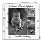Carter Baby book - 8x8 Photo Book (39 pages)
