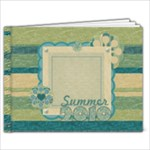 Summer Breeze 9x7 Quickbook - 9x7 Photo Book (20 pages)