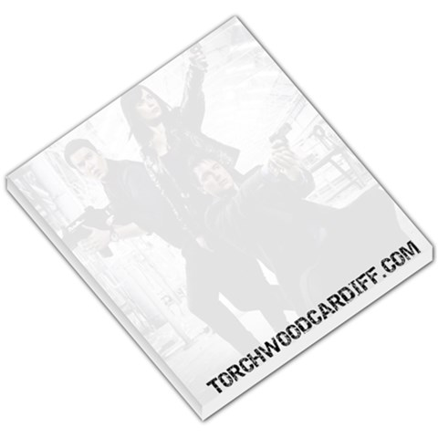 Torchwood Memo By Ronnie   Small Memo Pads   Yfvm290z9g3c   Www Artscow Com