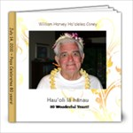 Pops 80th Birthday - 8x8 Photo Book (30 pages)