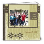 Dan #2 - 8x8 Photo Book (20 pages)