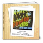 Kids camp 2010 39 pages - 8x8 Photo Book (39 pages)