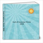 end of summer picnic try 1 - 8x8 Photo Book (20 pages)