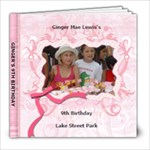 Ginger s 9th Birthday - 8x8 Photo Book (20 pages)