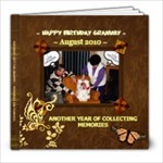 gRAMMY bIRTHDAY BOOK - 8x8 Photo Book (20 pages)