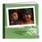 SUMMER 2010- BOYS - 8x8 Photo Book (20 pages)