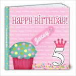Jaceys5thBirthday - 8x8 Photo Book (39 pages)