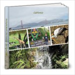 California July 2010 - 8x8 Photo Book (20 pages)