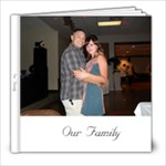 our family wedding - 8x8 Photo Book (20 pages)