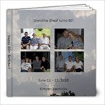 Mom Sheaf s 80th Birthday - 8x8 Photo Book (20 pages)