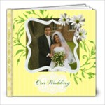 Susan & Nik s Wedding - 8x8 Photo Book (39 pages)