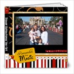Disney - 8x8 Photo Book (39 pages)