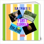 nathans first summer - 8x8 Photo Book (20 pages)