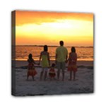 Tybee Island Sunset - Mini Canvas 8  x 8  (Stretched)