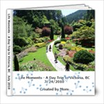 Victoria, BC - 8x8 Photo Book (39 pages)