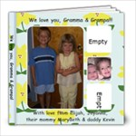 We love you, Gramma & Grampa! - 8x8 Photo Book (20 pages)