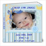 cALEB S bABY BOOK - 8x8 Photo Book (20 pages)