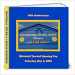 Tball 40 years - 8x8 Photo Book (20 pages)